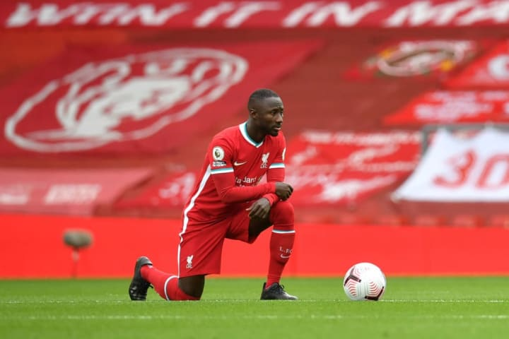 Naby Keïta has started Liverpool's first three Premier League matches this season after starting just five pre-lockdown last term