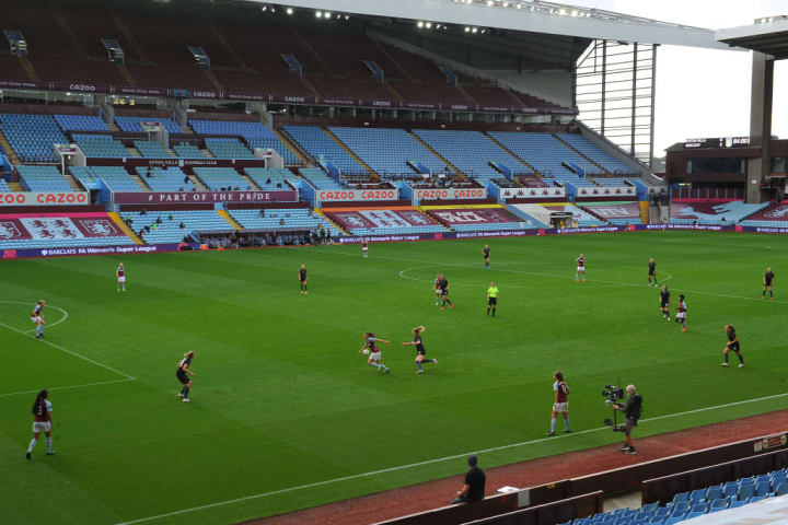 Aston Villa v Manchester City - Barclays FA Women's Super League