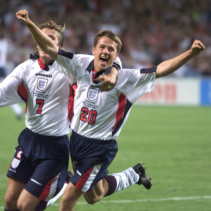 Michael Owen, David Beckham