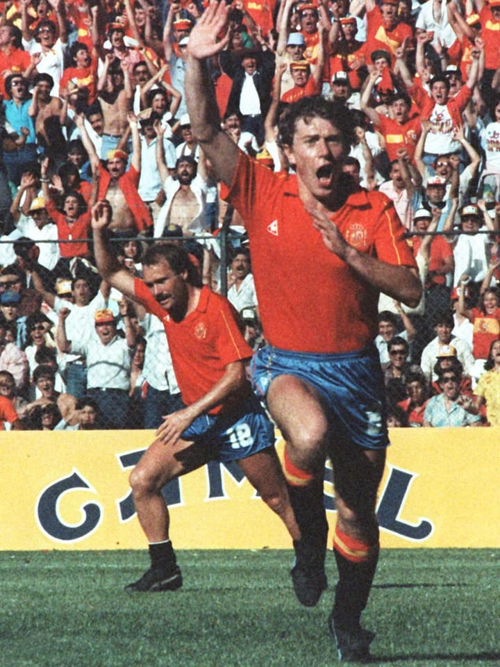 Butragueno was the top scorer in the 1986 World Cup for Spain