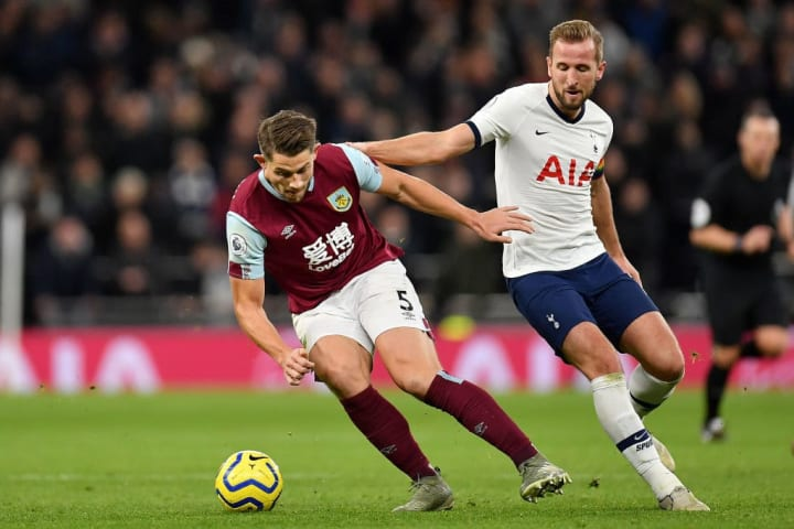 James Tarkowski, Harry Kane