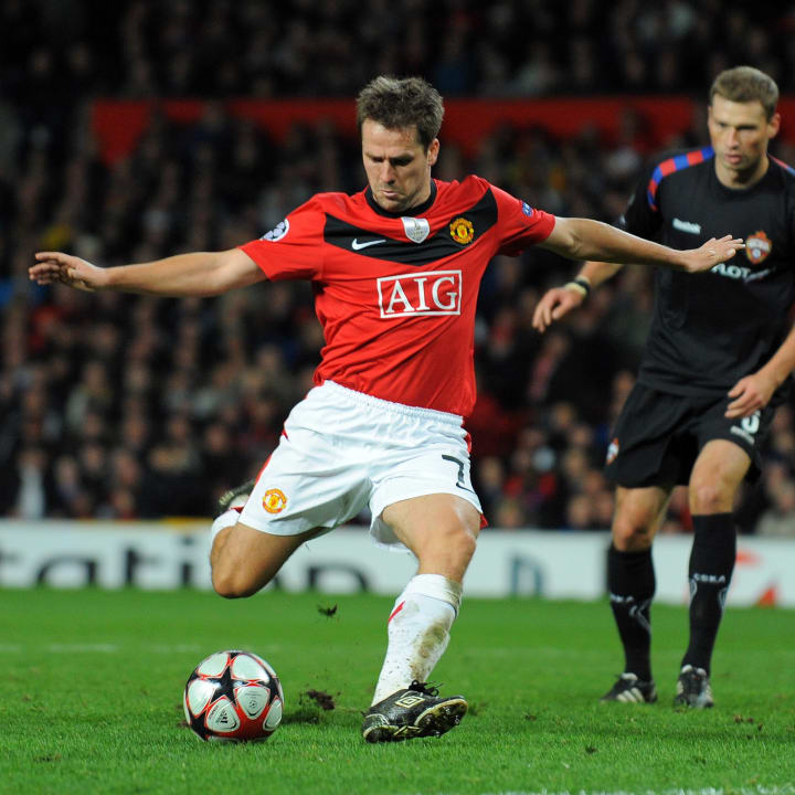 Manchester United's English forward Mich