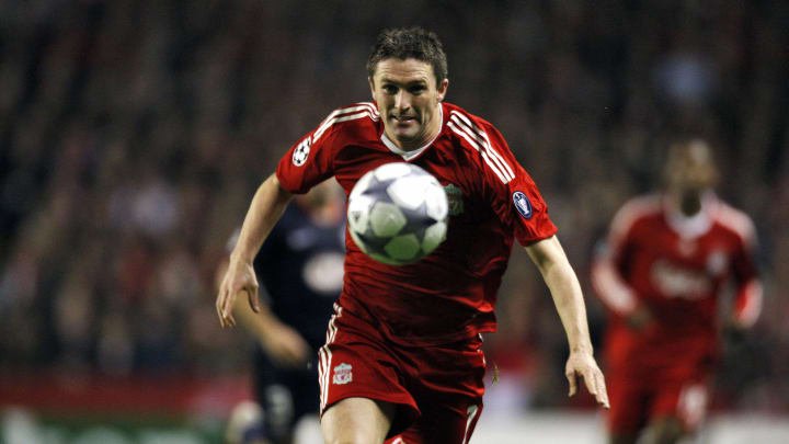 Liverpool's Irish forward Robbie Keane e