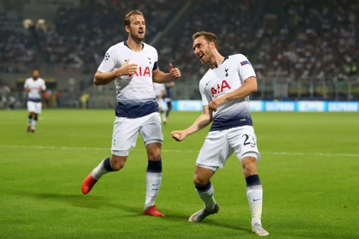 Christian Eriksen, Harry Kane