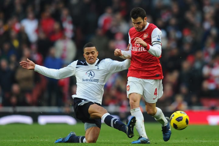 Jermaine Jenas only won two of his ten north London derby appearances